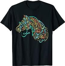 Arabic Calligraphy Shirt Art - Arabian Horse Gifts Women Men