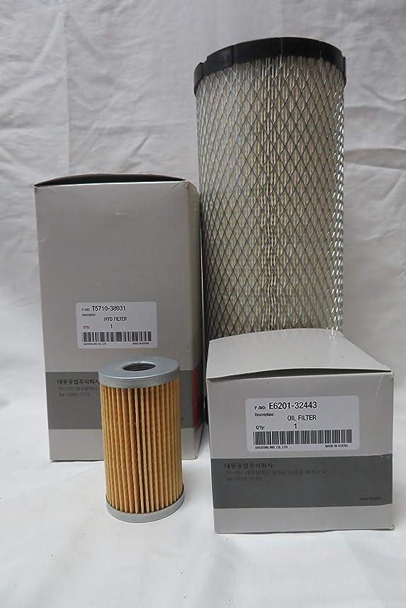 KIOTI Tractor Parts DS4110 DS4510 DS4110HS DS4510HS Maintenance Service Filters