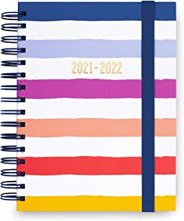 $29 » Kate Spade New York Large Hardcover 2021-2022 Planner Weekly & Monthly, 17 Month Daily Diary Dated Aug 2021 - Dec 2022 wit...