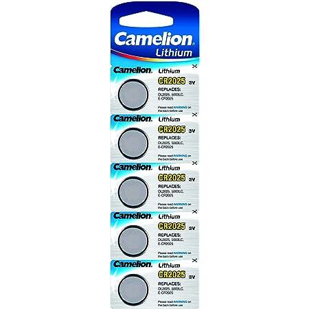 5 X Cr2025 Lithium Knopfzelle 5003lc Batterie Camelion Elektronik