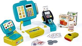 Caja registradora grande con calculadora y accesorios (Smoby