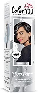 Wella Color by You One Wash-Away Hair Color Gel Silver Bullet