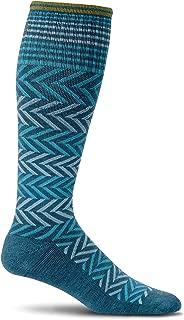 Women's Chevron Graduated Compression Socks