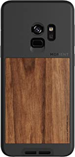 Galaxy S9 Case    Moment Photo Case in Walnut Wood - Protective, Durable, Wrist Strap Friendly case for Camera Lovers.