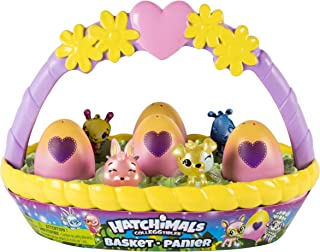 Hatchimals CollEGGtibles Easter Basket with 6 Hatchimals...