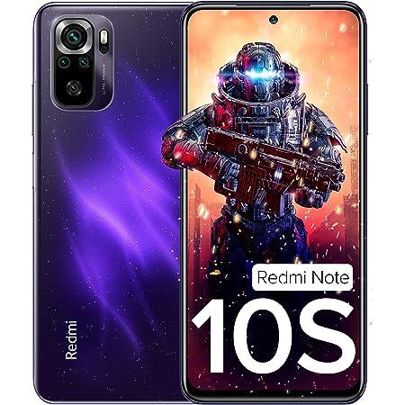 Redmi Note 10S (Cosmic Purple, 6GB RAM, 128GB Storage) - Super Amoled Display | 64 MP Quad Camera | Alexa Built in