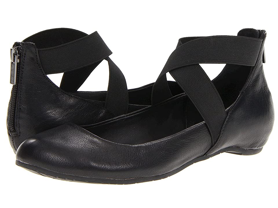 Retro Vintage Flats and Low Heel Shoes Kenneth Cole Reaction - Pro-Time Black Womens Flat Shoes $79.00 AT vintagedancer.com
