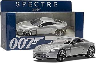 No Time Aston Martin DB5 Damaged to Die 007 Car Bundled with James Bond Exclusive Spectre Figure Daniel Craig Stickers 3 Items