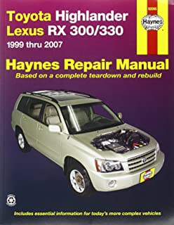 2007 lexus rx 350 service manual