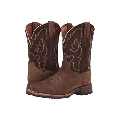Dan Post Davis (Brown Hound Dog Suede) Men