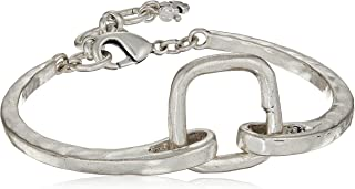 Women's Link Bracelet, Silver, One Size