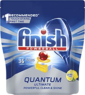 Finish Powerball Quantum Ultimate Tablets, 36 Pack, Lemon Sparkle