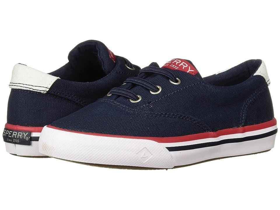 Sperry Kids Striper II (Toddler/Little Kid) (Navy Textile) Kids Shoes