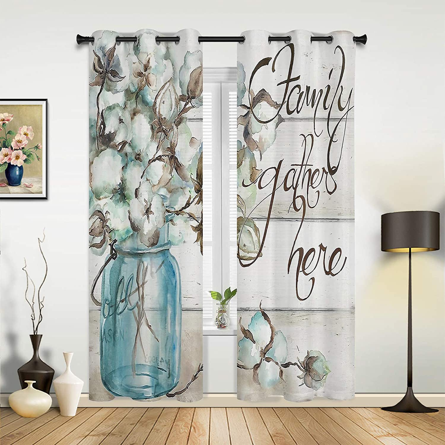 Wooden Plank Blackout Window sale All items free shipping Curtains Therm for Grommet Bedroom