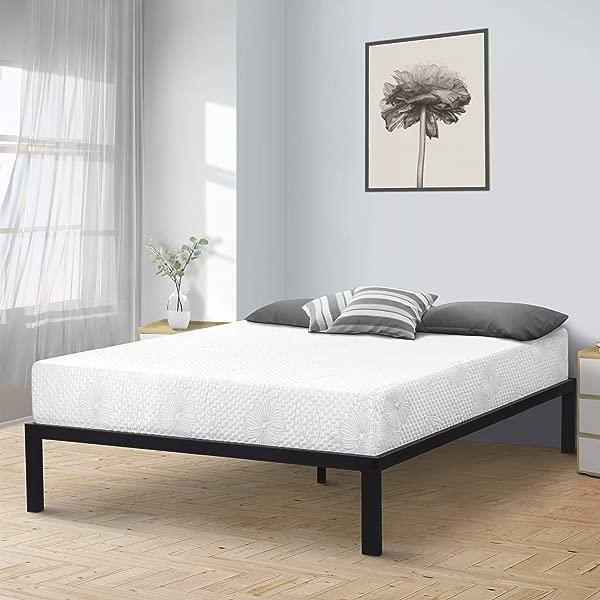 SLEEPLACE SVC14BX04F Bed Frame Full Black