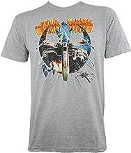 Star Wars Lightspun X-Wing Vs Tie Fighter Slim Fit T-Shirt S-2XL New