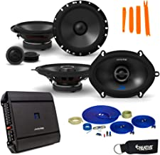 """$487 » Sponsored Ad - Alpine Type-S Speaker and Amp Bundle 6.5"""" S-S65C Component Set and 6x8 Coaxials with S-A32F Amplifier"""