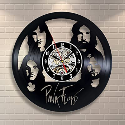 Vinyl Pink Floyd Music Vintage Art Home Decor Record Clock Room Design