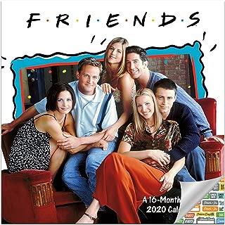 Friends Calendar 2020 Set - Deluxe 2020 Friends Wall Calendar with Over 100 Calendar Stickers (Friends TV Gifts, Office Supplies)
