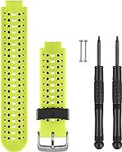 Garmin wisselarmband Forerunner 230/235/630 - geel/zwart, regular