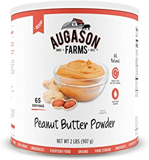 Augason Farms Peanut Butter Powder 2 lbs No. 10 Can 3-pack (no. 10 can)
