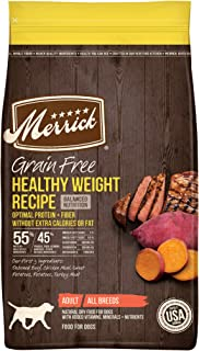 Merrick Grain Free with Real Meat + Sweet Potato Dry Dog Food Health Weight Recipe