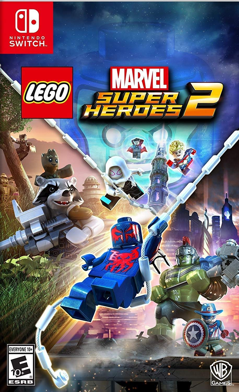 Lego Marvel Superheroes 2 Nintendo Switch Game (#) [Importación ...
