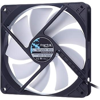 Amazon Com Fractal Design Silent Series 140mm R3 Case Fan Fd Fan Ssr3 140 Wt Computers Accessories