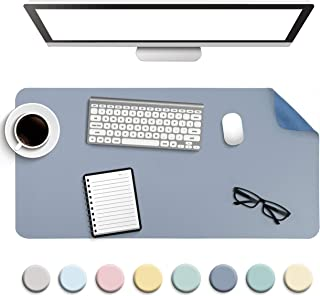 Non-Slip Desk Pad, Waterproof PVC Leather Desk Table Protector, Ultra Thin Large Mouse..