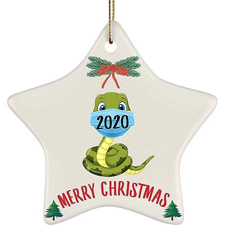 Amazon Com Graphics More Cobra Snake Wood Christmas Tree Holiday Ornament Home Kitchen