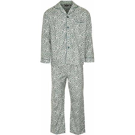 Mens Champion Paisley Warm Brushed Cotton Pyjama nightwear lounge wear