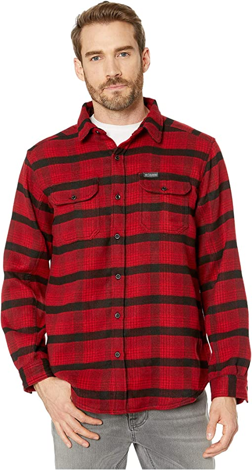 Mountain Red Medium Plaid