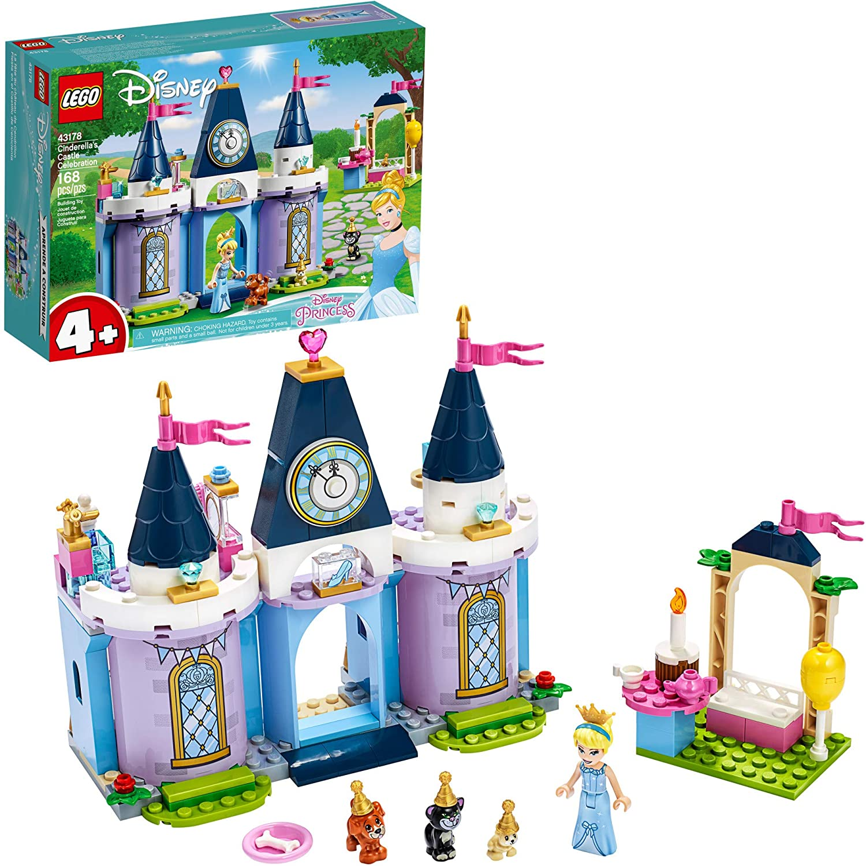 Spring new work LEGO Disney Cinderella's Year-end annual account Castle Celebration 43178 Creative Build