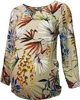 Çiçek Desenli Hamile Bluz