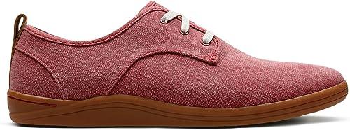 Clarks Mapped Mix, Chaussures de Ville à Lacets Lacets Lacets pour Homme Rouge rouge f5e