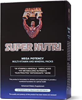 Healthy N Fit Super-Nutri Pack (30 Packets) - Mega Potency Multi-Vitamin Pak with Aminos, Minerals, and more