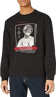 Armani Exchange Men's White Sweatshirt