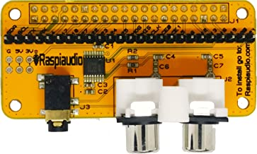 Audio DAC HAT Sound Card (Audio+) for Raspberry Pi Zero / PI3 / PI3B / PI3B+ / PI2 / Better Quality Than USB