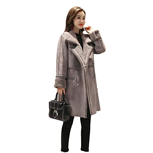 Women's Shearling Coats: Amazon.com