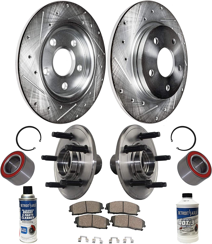 Detroit 大放出セール Axle - Rear Wheel Hub ブランド激安セール会場 Slott Bearing Drilled + Assembly