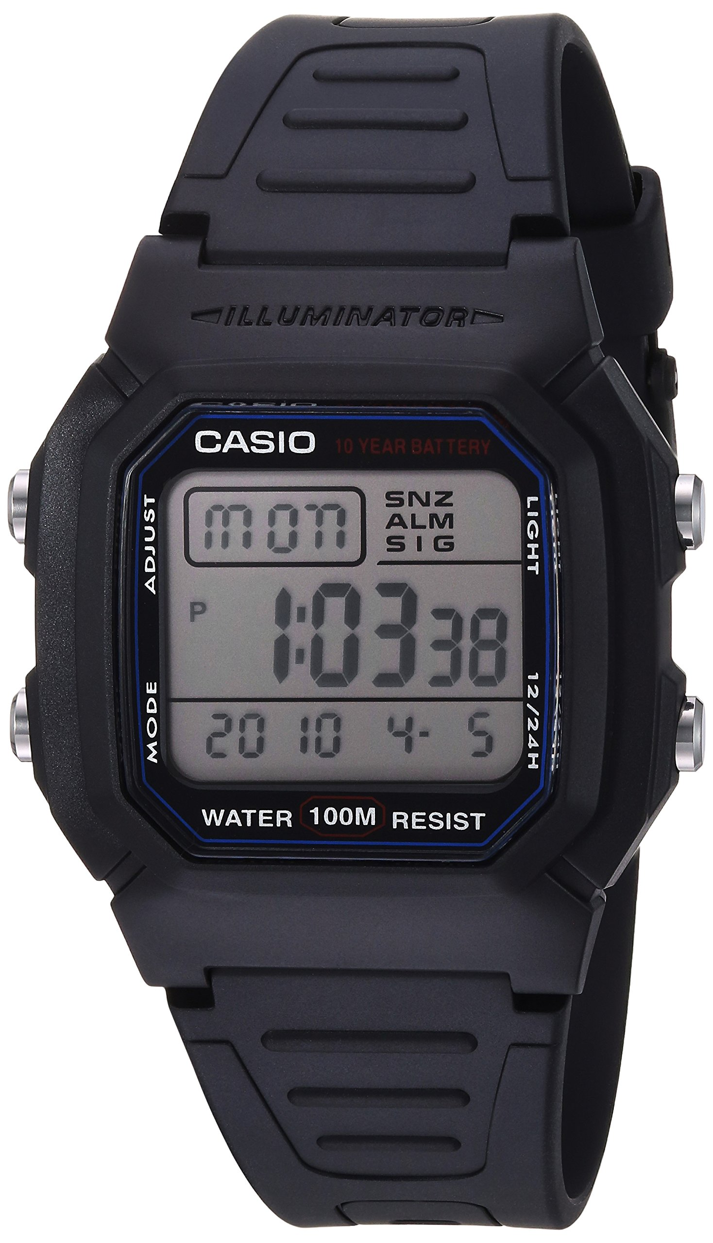 Casio Quartz Resin Sport Watch