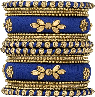 Best blue thread bangles Reviews
