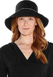 Coolibar UPF 50+ Women's Audrey Ribbon Bucket Hat - Sun Protective