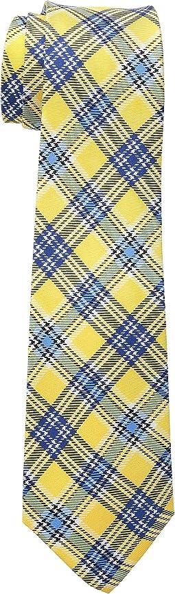 Printed Plaid Tie