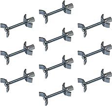Gedotec meubelstukschroeven Verbindingsschroef 150 mm massief stalen houtverbinding | meubelstuk met M6-draad | hoekverbin...