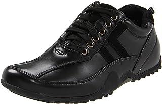 Deer Stags Men's Donald-Vega Slip and Oil Resistant Oxford Shoe Black