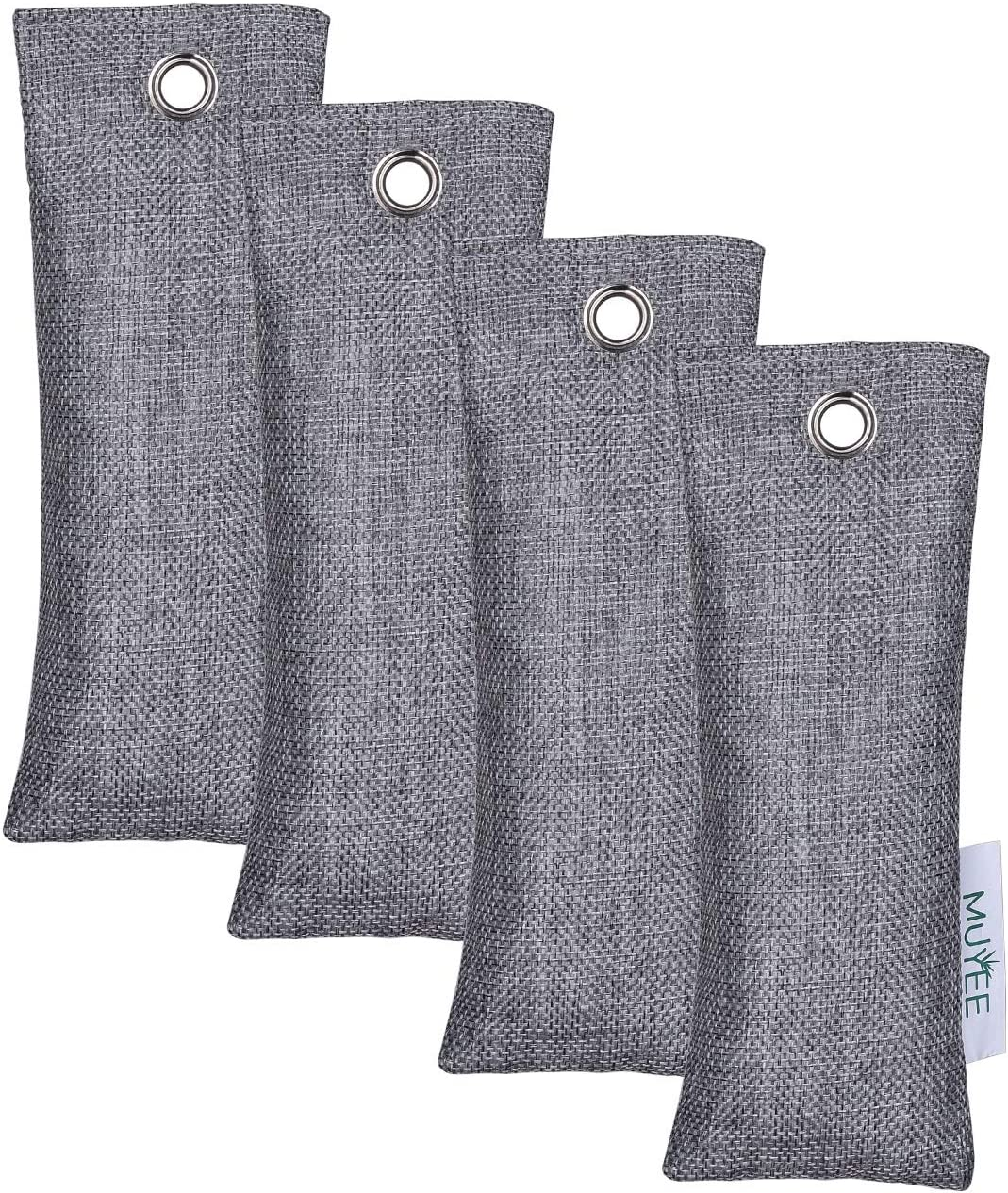 Muyee Bamboo Charcoal Bags 4 Absorber Pack B sale Sale Special Price Freshen Odor