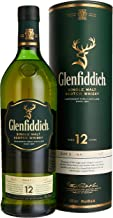 Glenfiddich 12 Jahre Single Malt Whisky 1 x 1 l