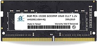 Adamanta 8GB(1x8GB)ラップトップRAMアップグレード互換性:Dell Alienware、Inspiron、Latitude、Optiplex、Precision、Vostro、およびXPS DDR4 2400Mhz PC4-...