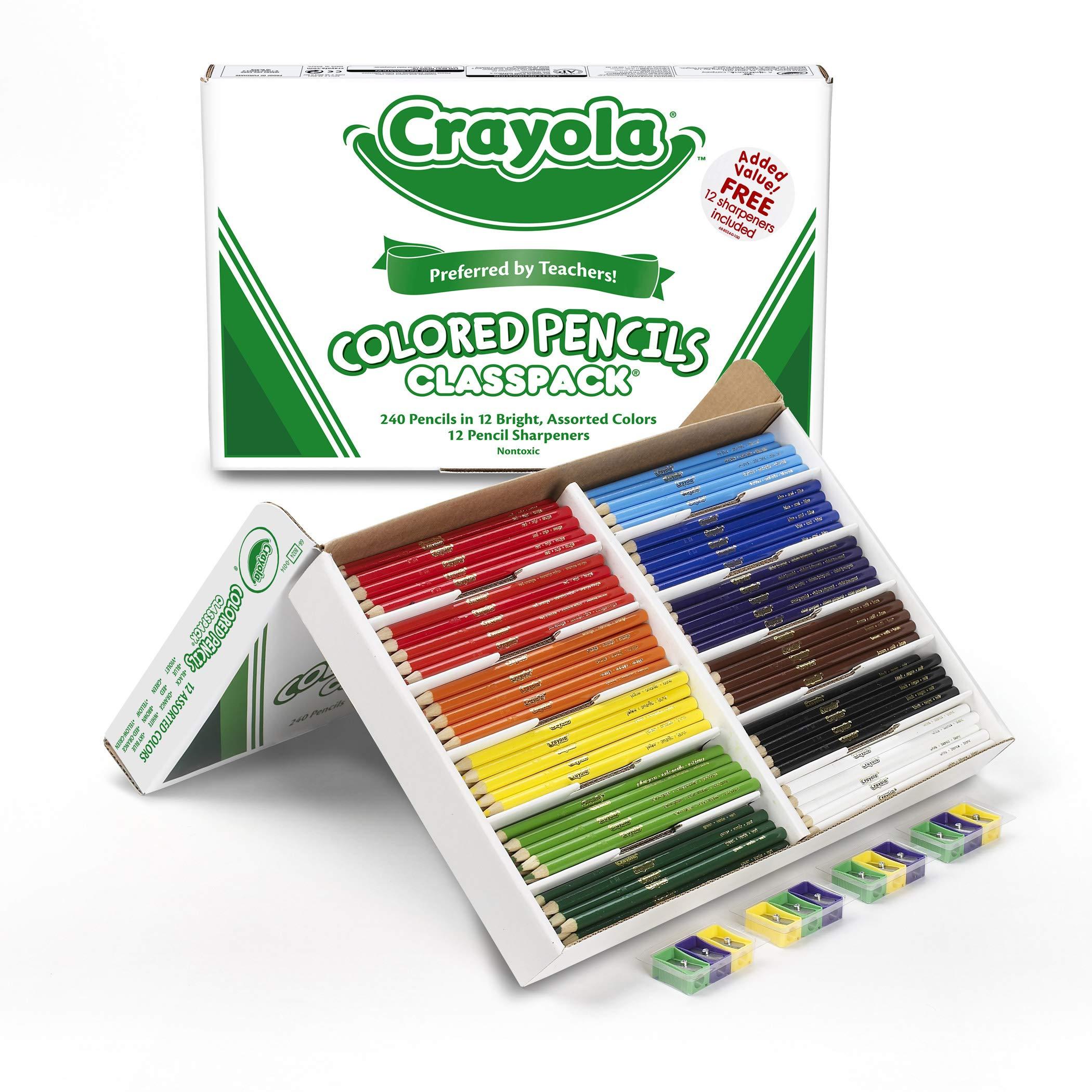 Crayola Colored Pencil Classpack Assorted